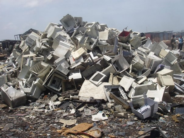 "E-waste landfill sites are the shame of the ""throw-away""  economy."